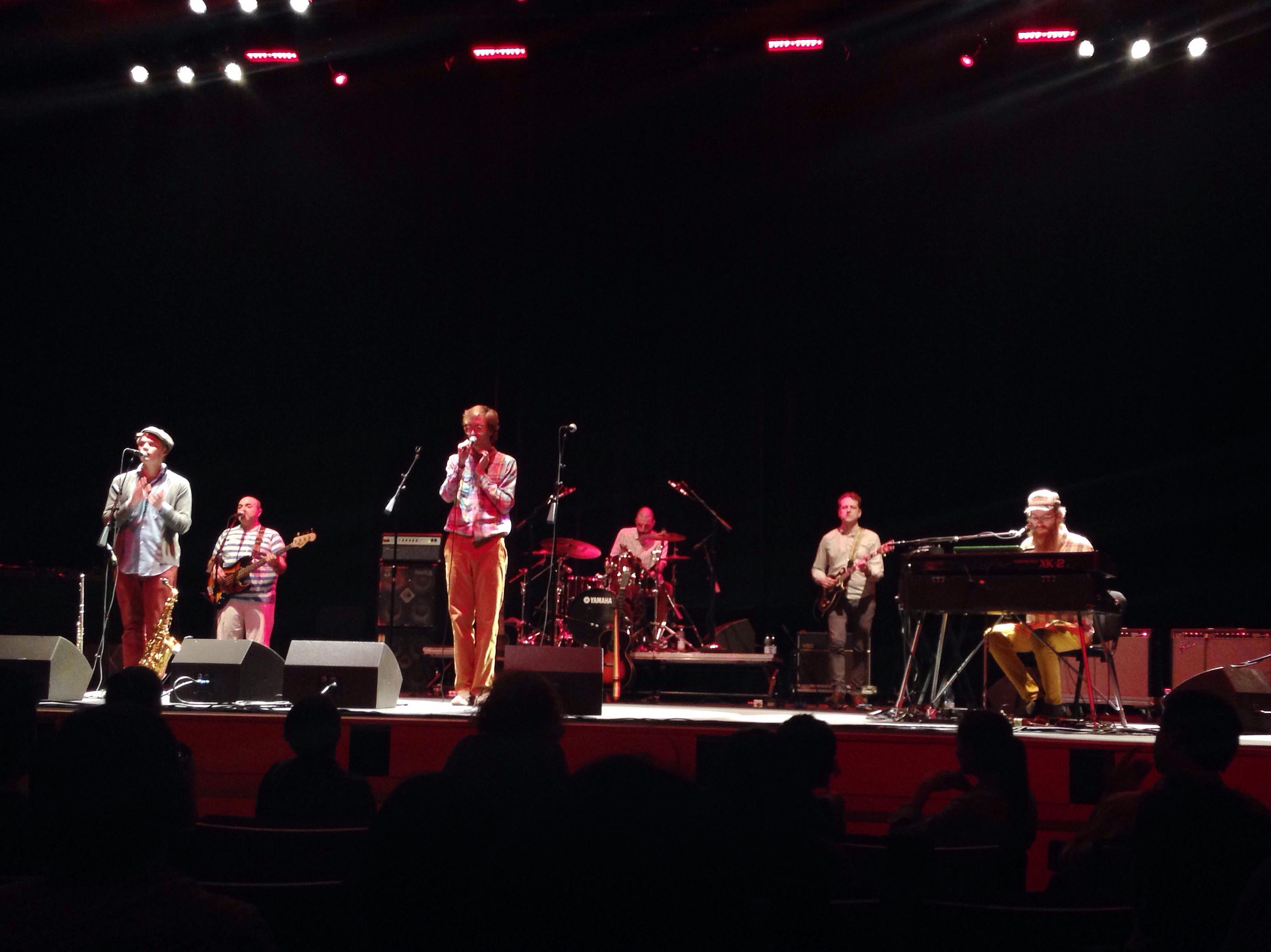 Erlend Øye & The Rainbows — 20.11.2014, Santiago - Chile
